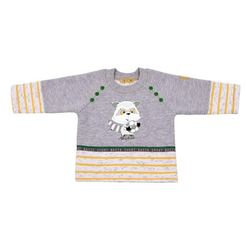 Basik Kids Blouse-sweatshirt combination kids letter print sweatshirt