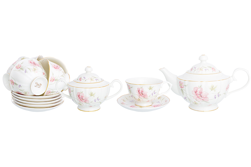 Available from 10.11Tea set Diana 14 items Elan Gallery 740299
