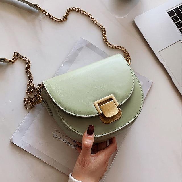 50033ee019c US $13.19 45% OFF|Aliexpress.com : Buy Luxury Brand Small Crossbody Bags  Women 2019 High Quality PU Leather Female Designer Handbag Ladies Chain ...