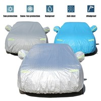 Car Cover Special For Hyundai Elantra Electric Car With Side Opening Zipper Dustproof Waterproof Sun Protection Cover Anti theft