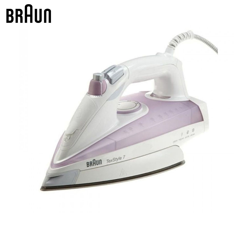 Electric Irons Braun TexStyle 7 TS715 steam iron steamer electric irons braun texstyle 5 ts535 tp steam iron steamer