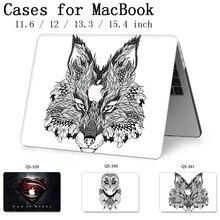 Neue Laptop Fall Für Macbook 13,3 15,6 Zoll Für MacBook Air Pro Retina 11 12 13 15,4 Mit Screen Protector tastatur Cove Geschenk Heißer