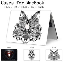 New Laptop Case For Macbook 13.3 15.6 Inch For MacBook Air Pro Retina 11 12 13 15.4 With Screen Protector Keyboard Cove Gift Hot