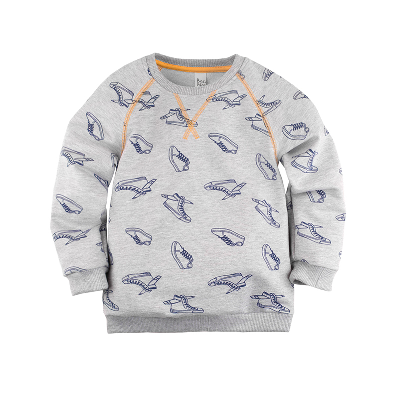 Children's Hoodies & Sweatshirts Bossa Nova 227B-487 Top Gray kid clothes children clothing tank top color gray