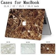 Чехол для ноутбука MacBook 13,3 15,4 дюймов для MacBook Air Pro retina 11 12 с защитной клавиатурой для экрана