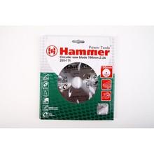 Диск пильный Hammer Flex 205-111 CSB WD  190мм*24*30/20/16мм по дереву