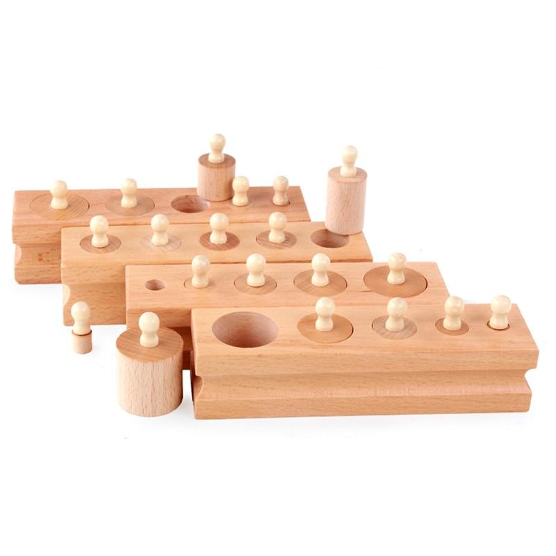 Openhartig Socket Cilinder Familie Apparatuur Baby Puzzel Vroege Onderwijs Speelgoed Kleuterschool Leermiddelen Baby Vroege Onderwijs Betrouwbare Prestaties