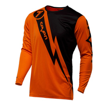 New moto 2018 Enduro Jeresy Downhill Jersey Seven Ropa Ciclismo mtb shirt men dh MX Bicycle Long Sleeve