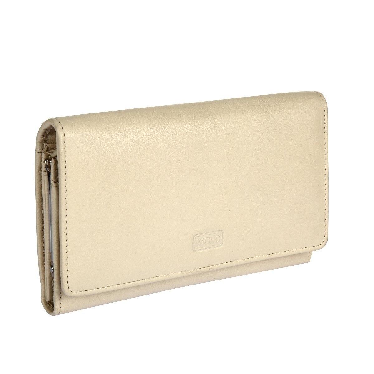 Purse Mano 13407 SETRU off white кошельки бумажники и портмоне mano 20103 setru black