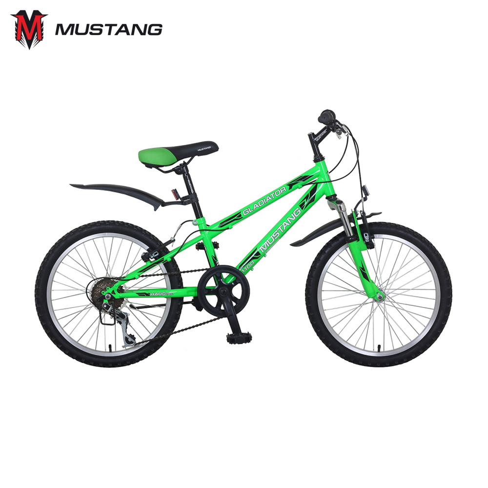 Bicycle Mustang 265250 bicycles teenager bike children for boys girls boy girl ST20052-GL