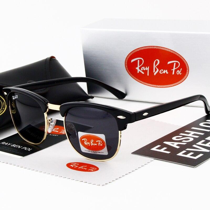ea545aae57 Los hombres gafas mujer gafas de sol polarizadas de moda para hombre UV400,  gafas Vintage de diseñador de marca mujeres gafas de sol hombre