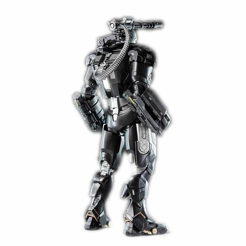 Marvel legends HOTTOYS War Machine 1.0 Action figures Movie Periphery the Avengers Iron Man 2 Alloy Movable Model figma toy