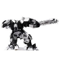 Desperate Ripper Fun 3D Metal DIY Miniature Model Kits Puzzle Toys Children Educational Boy Splicing Science Hobby