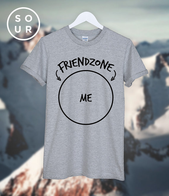 Friendzone ME T SHIRT unisex top C580-in T-Shirts from Womens Clothing