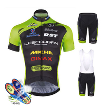 Ropa Bicicleta De Carretera 2019 Pro Team Cycling Clothing Summer Short Sleeve Suit Mens Top and Bottom Bib Shorts Kit