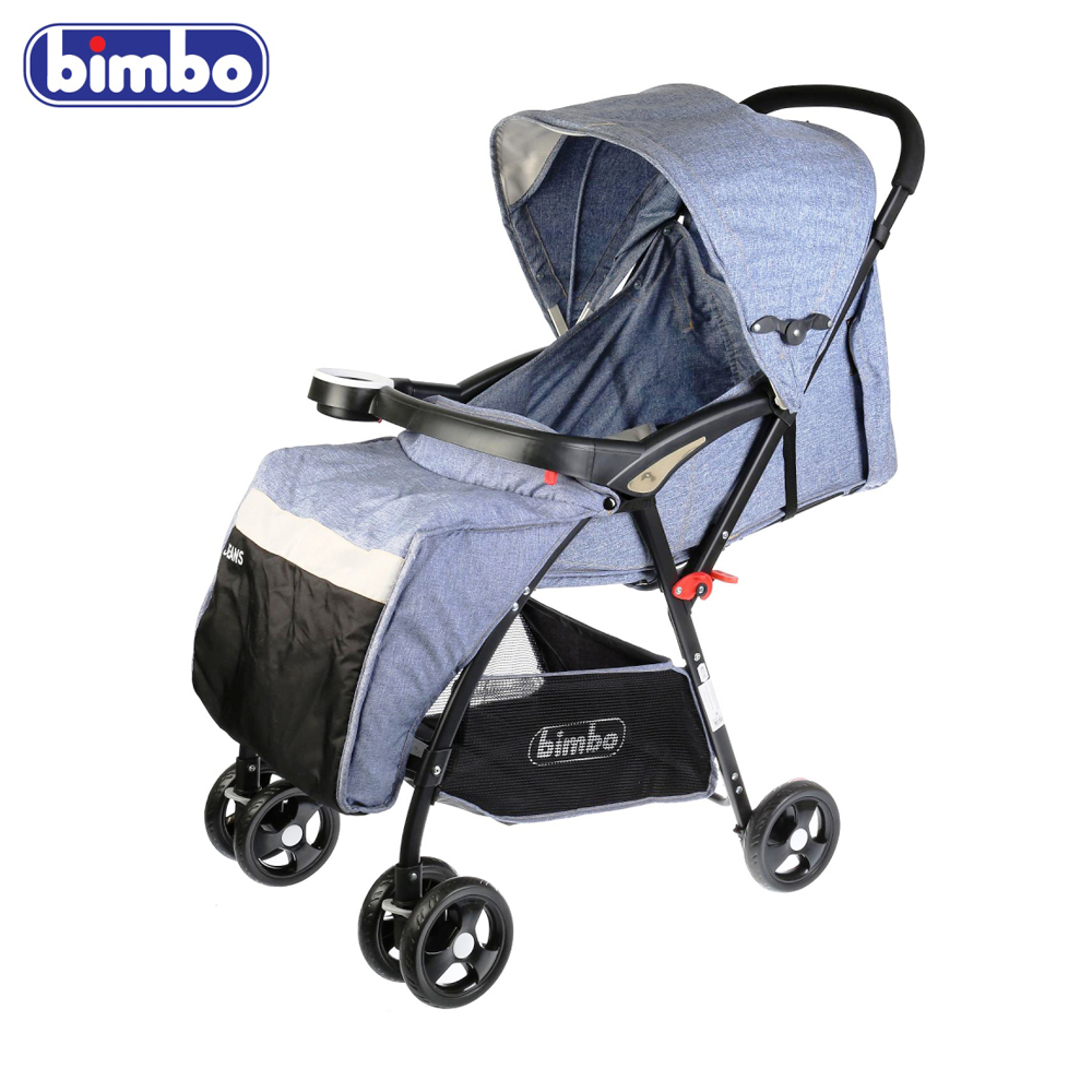 Фото - Four Wheels Stroller BIMBO 263226 baby strollers for newborn girls boys girl boy JEANS 19C1F girls destroyed jeans