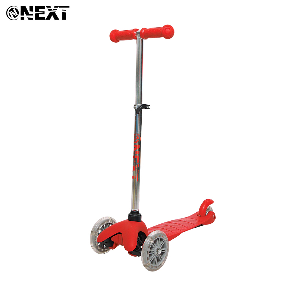 Kick Scooters Foot Scooters Next 264638 children trick scooter for boy girl boys girls Luminous wheels HL-TC-005-RED юбки next 677150 677 150