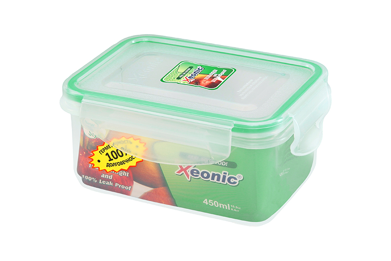 Available from 10.11 Container food rectangular XEONIC 450 ml Xeonic 810095