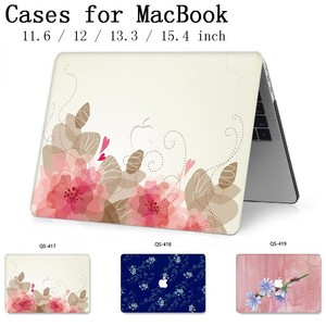 Image 1 - 2019 For MacBook Air Pro Retina 11 12 13 15 For Apple New Laptop Case Bag 13.3 15.6 Inch With Screen Protector Keyboard Cove bag