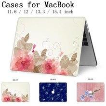 2019 dla MacBook Air Pro Retina 11 12 13 15 dla Apple nowe etui na laptopa torba 13.3 15.6 Cal z ochraniacz ekranu klawiatura Cove torba