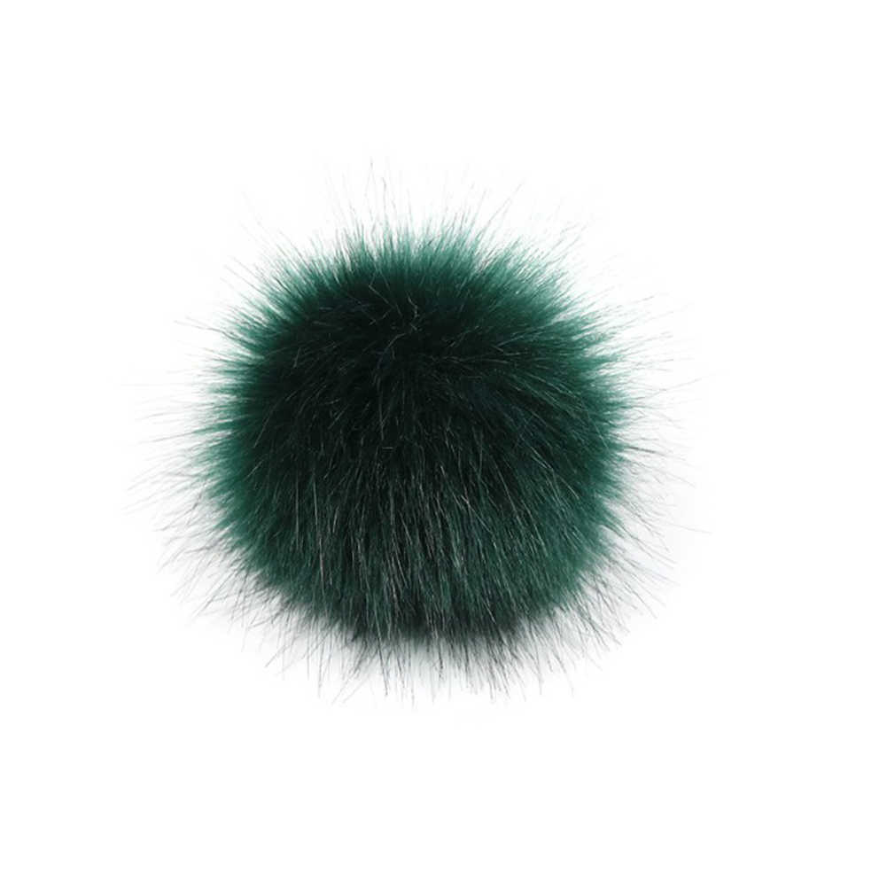 Chaveiro Bola De Pêlo De Coelho Faux Fur Pom Pom 8 CM Llaveros Chaveiros Portachiavi Chaveiro Fofo Porte Porte Clef Clef Pompom de