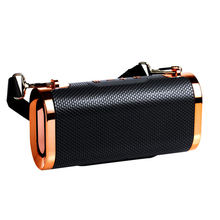 Hot Style Shoulder Strap Bluetooth Speaker Double Diaphragm Outdoor Mini Portable Subwoofer