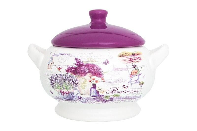 Available from10.11 Dumpling - tureen (pot for baking) Lavender Elan Gallery 720285 hot sale kitchen tool diy hollow plastic fast dumpling wraper mould