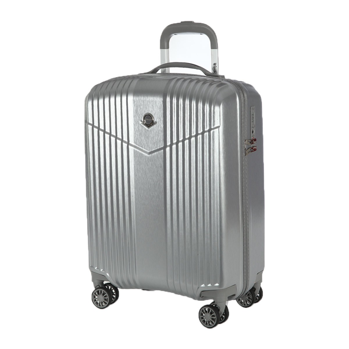 Suitcase-trolley Verage GM17072W19 brushed silver