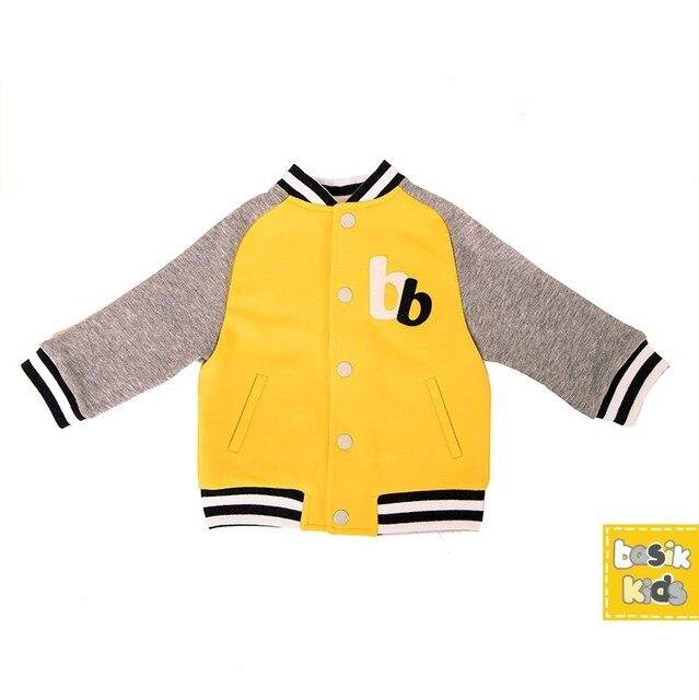 Basik Kids Куртка бомбер желтая