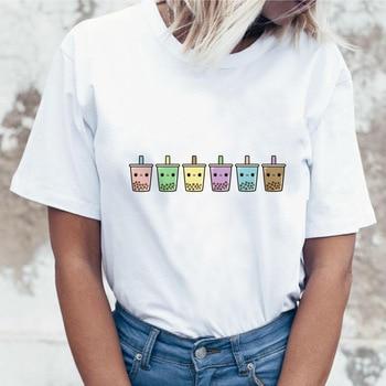 Gothic Colorful Color Block Otaku Funny Pet Top Rude Female T-shirt T Shirt Tshirt Graphic Sketch Satan Women Popculture Tee