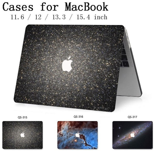 Laptop Bag Case For MacBook Air Pro Retina 11 12 13 15.4 For Hot Macbook 13.3 15.6 Inch With Screen Protector Keyboard Cove Gift