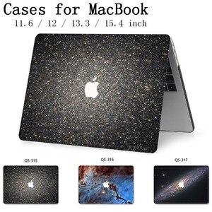 Image 1 - Сумка для ноутбука чехол для MacBook Air Pro retina 11 12 13 15,4 для горячего Macbook 13,3 15,6 дюймов с защитой экрана клавиатуры в подарок