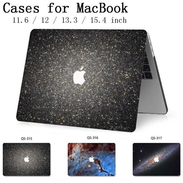 Сумка для ноутбука чехол для MacBook Air Pro retina 11 12 13 15,4 для горячего Macbook 13,3 15,6 дюймов с защитой экрана клавиатуры в подарок