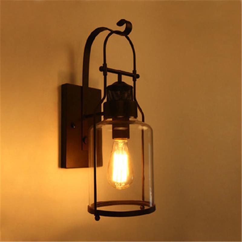 Lampe Lampen Modern Lampara Bedroom Lamp Mirror De Deco Maison Aplique Luz Pared Wandlamp Applique Murale Luminaire Wall Light in Wall Lamps from Lights Lighting