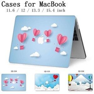Image 1 - Macbook のラップトップケース 13.3 15.4 インチ Macbook Air Pro の網膜 11 12 13 15 スクリーンプロテクターキーボード入り江リンゴの袋ケース