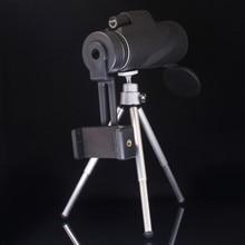 лучшая цена High Quality Binoculars Mini Monocular 40x60 Powerful Zoom Telescope with Tripod lll Night Vision HD Professional Hunting Camp