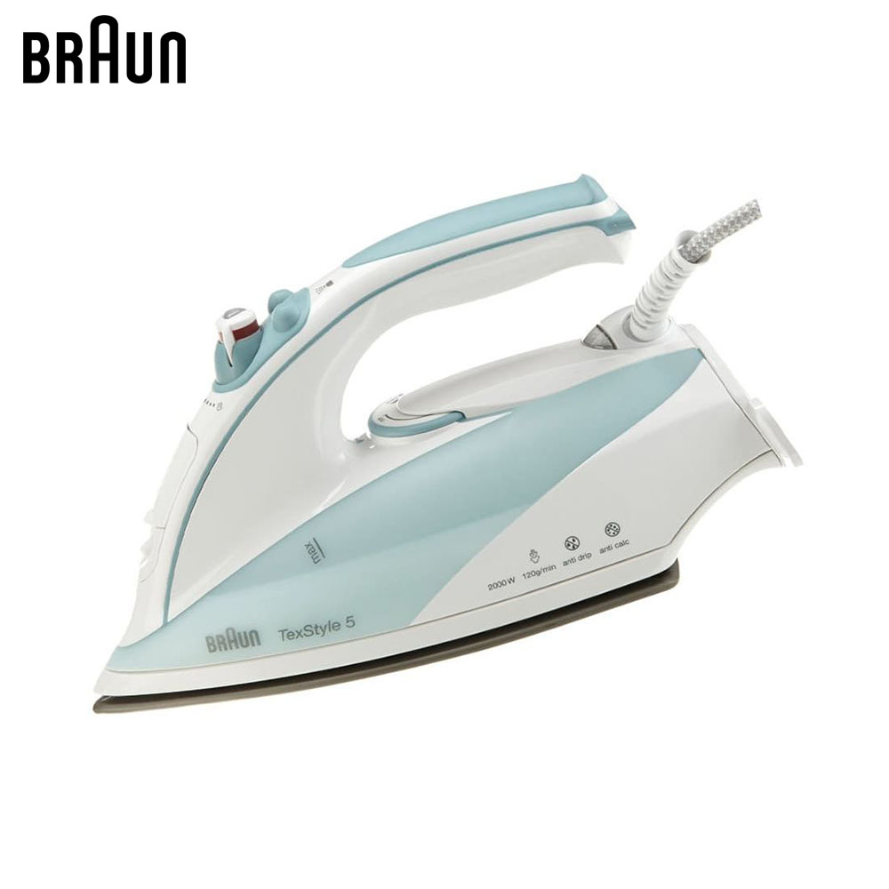 Electric Irons Braun TexStyle 5 TS515 steam iron steamer electric irons braun texstyle 5 ts535 tp steam iron steamer