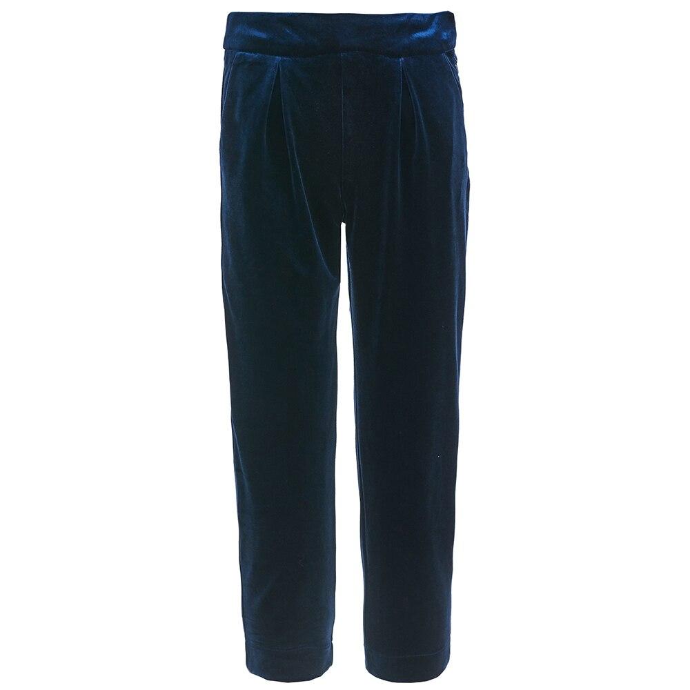 Pants & Capris Gulliver for girls 218GPGTC6301 Leggings Hot Children clothes asymmetrical ripped leggings