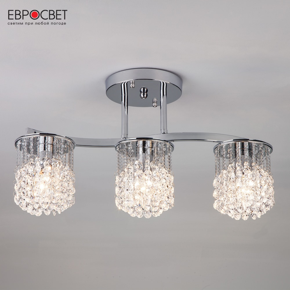 купить Chandelier Crystal Eurosvet 28490 crystals for hanging chandeliers lighting accessories по цене 6329 рублей