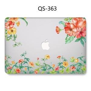 Image 2 - מקרה נייד עבור Apple Macbook 13.3 15.6 אינץ עבור MacBook רשתית 11 12 13 15.4 חם עם מסך מגן מקלדת קוב