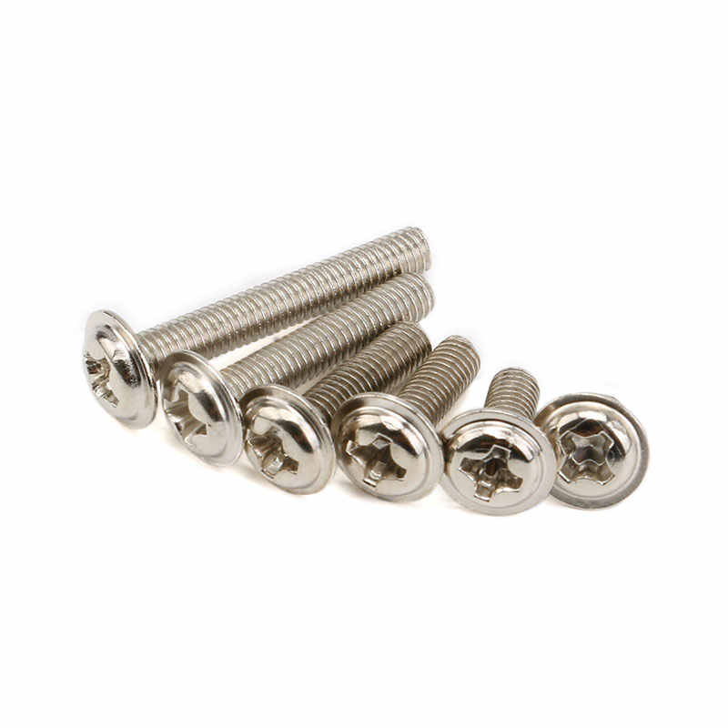 100Pcs M3 Screw M3X5/6/8/10/12/16/20mm PC Case Hard Drive Precision Hex Screws For Computer Floppy DVD ROM Motherboard