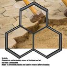 Garden Stone Walk Maker Mould DIY Pavement Concrete Mold Driveway Paving Brick Patio Moldes Para Concreto Slabs Path Pathmate