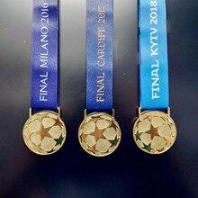 2016 17 18 RM Европа футбольная лига чемпионы золотая медаль Ограниченная серия набор Реплика Лига награда футбольные фанаты сувенирная коллекция