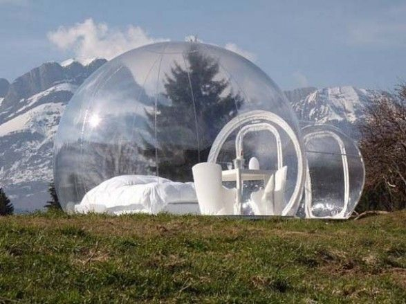 Transparent Outdoor Camping Inflatable Clear Bubble Tent Free Shipping With Air Pump