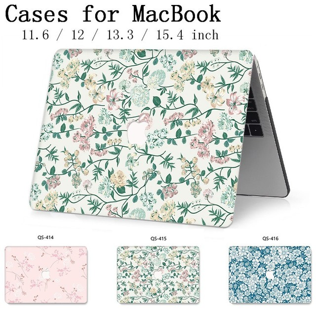 For 2019 MacBook Air Pro Retina 11 12 13 15 For Apple New Laptop Case Bag 13.3 15.6 Inch With Screen Protector Keyboard Cove bag