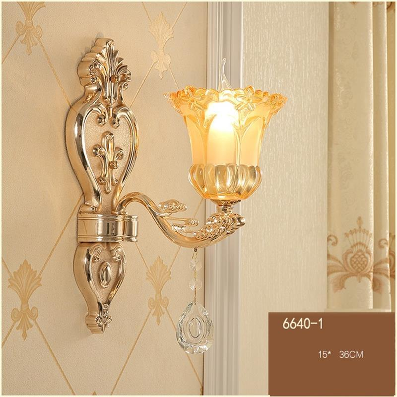 Para Parede Dressing Table Bathroom Lamp Crystal Lampara De Interior Applique Murale Luminaire Aplique Luz Pared Wall Light in Wall Lamps from Lights Lighting