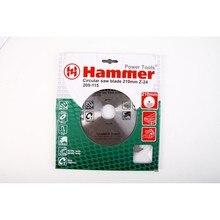 Диск пильный Hammer Flex 205-115 CSB WD  210мм*24*30/20мм по дереву