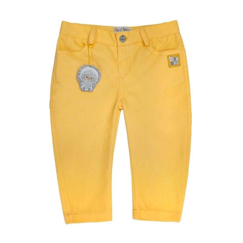 Basik Kids denim pants Bananas bleached ripped pockets denim pants