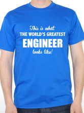 Make A Tee Shirt Short Sleeve Print Worlds Greatest Engineer Engineering Structure Crew Neck Mens Tee crew neck space dyed striped tee