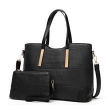 2018 New Style PU Material Bags Fashion Alligator Lash Package Waterproof High Quality Multi-purpose Ladies Handbag